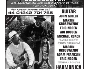 Blues Week 2017 from 30th July to 4th August. Our 17th Year!