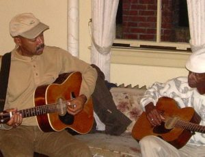 Picking with John Dee Holeman in Port Townsend, USA 2010
