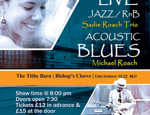 An Evening of Blues & Jazz/RnB with Michael Roach and the Sadie Roach Trio