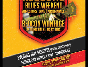 Acoustic Blues Weekend, The Beacon, Wantage OX12 9BX